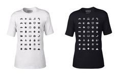 Traveller T-Shirt With 40 Icons Lets You Communicate In Any Country Even If You Don't Speak Its Language -       I wish I had this shirt when I was in Afghanistan. In 2009, we were situated in a little Observation Post somewhere in Kandahar for a week or tw...