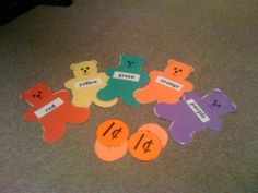 Gummy Bear Song use it to learn the children's names at the beginning of school.