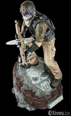 Ghost Recon: Future Soldier figurine... I want!