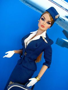 airline stewardess - Fashion Royalty