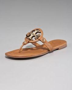 Tory Burch Thong Sandals. LOVE by Fuchs