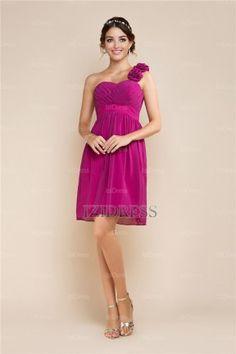 A-Line/Princess V-neck Straps Chiffon Prom Dress - IZIDRESSES.com at IZIDRESSES.com