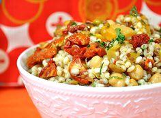 Moroccan Barley Salad...so good!