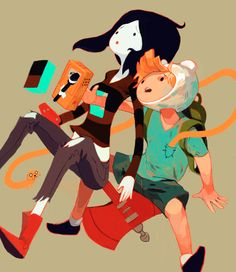 Daddy Why Did You Eat My Fries? by Sachin Teng // Oootopia : An Artgebraic Tribute To Adventure Time! #illustration #geeky