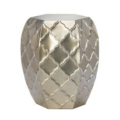 Metal Moroccan Styled Decorative Stool