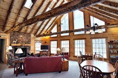 94 best log home interiors images on pinterest house decorations