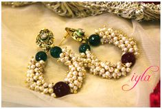 Pearl Loops - Craft Shops India