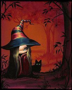 Cute Lil' Witch