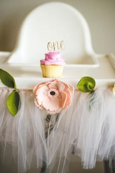 These teeny tiny cupcake toppers are perfect for a first birthday party. The set comes with 24 cupcake toppers on toothpicks. You can choose what color youd like them to be. The pictures shown are using a rose gold glitter card stock. * When placing the order please let me know which