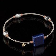 Six String Square One Bracelet
