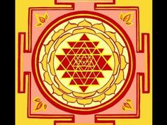 Sri Yantra - Chant 108 times for better Health, Wealth and Wisdom - YouTube
