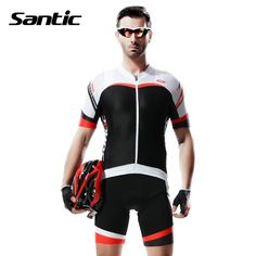 67.14$  Buy here - http://ali05o.worldwells.pw/go.php?t=32462664312 - SANTIC Short Sleeve Cycling Jersey Men Tour De France MTB Road Bike Jersey Sport Cycling Clothing Sets Apparel Ropa Ciclismo  67.14$