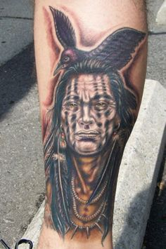 Blackfoot Indian Tattoos | Although Native American Indians do have a tradition of tattooing, it ...