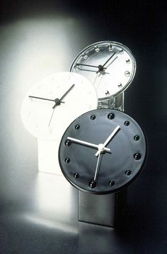 Glass clocks - Galileo, 1986 by internationally renowned glass designer and artist, Markku Salo.