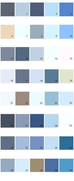 lavender paint colors chart House Paint Color - Chart, Chip - sample rgb color chart