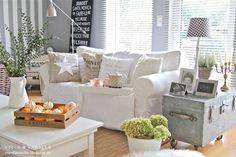 Villa ✪ Vanilla. I adore this room! #shabby