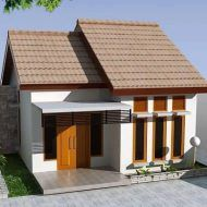 Design rumah simple Modern Small House Design, Minimalist House Design, Minimalist Home, Building A Small House, Small House Plans, Beautiful Interior Design, Home Interior Design, Interior Ideas, Casas Country