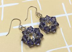 DIY: Eternal Ring Swarovski Earring | Alonso Sobrino Hnos. Co. & Inc. Druzy Beads and Fabrics