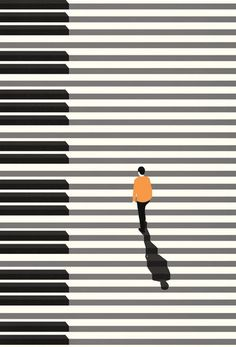 """{ARTICLE} NY TIMES - Multiple studies link music study to academic achievement. But what is it about serious music training that seems to correlate with outsize success in other fields?""""Music """"reinforces your confidence in the ability to create. Piano Art, Piano Music, Music Music, Dream Music, Piano Keys, Gig Poster, Jazz Poster, Insomnia In Children, American Illustration"""