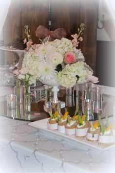 Hors d'oeurves table/ Wedding & Event Planning by The Perfect Table Cape Cod