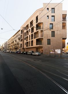 Located in the heart of Milan, within the Monumentale area, the building shows an innovative approach in addressing metro- politan residential issues. The project aims at interacting witha broader spatial and cultural context, embracing the residential...