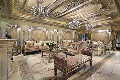 Living room luxury perla lichi