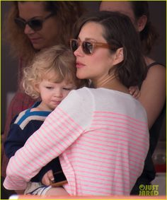 Marion Cotillard and Guillaume Canet take their son Marcel to the Monaco Jumping Show on June 30, 2013