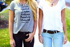 salty blondes fashion blog: Stay Basic. T-shirt and jeans. Fashion blogger casual style