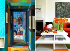 Vibrant interiors shot by Mark Roskams | Plastolux