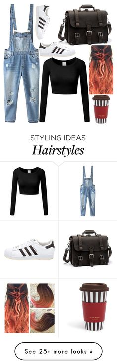 """Untitled #1545"" by ainara26 on Polyvore featuring Relaxfeel, adidas and Henri Bendel"