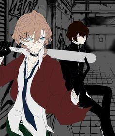 Fear these boys!! (°×°)
