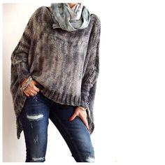 Tye Dye Cotton Sweater. by munamiu on Etsy, $103.00