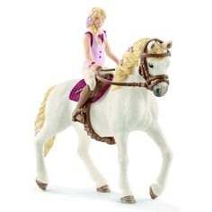 Schleich 42411 Girl with Quarter Horse Gelding New Release 2018