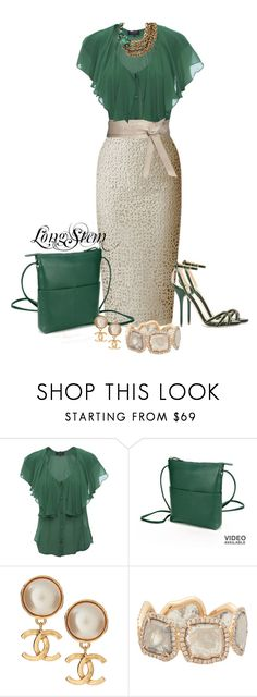 """""""Untitled #535"""" by longstem ❤ liked on Polyvore featuring Paul Smith, Burberry, ASOS, Stuart Weitzman, ILI, Chanel, Monique Péan and Elizabeth Cole"""