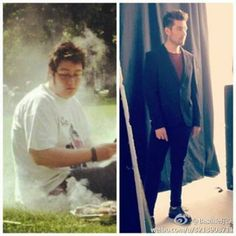 How is this possible! Oh well, he'd still be amazing even if he still looked like the left side! Stormer for life▲♥