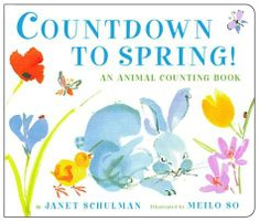 Countdown to Spring!: An Animal Counting Book by Janet Schulman, http://www.amazon.com/dp/0375826955/ref=cm_sw_r_pi_dp_IRoatb009W5B4