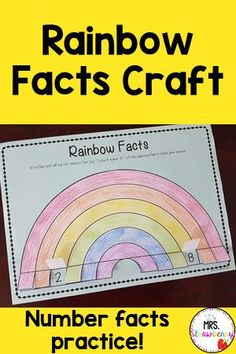 This Rainbow Facts Activity is a fun and engaging way to learn and practice the rainbow facts! Your students will want to use this again and again! Practice partners of 10 with this cute worksheets and activity. Use in math centers, assign as homework or practice in small groups. Students in pre-k, kindergarten and first grade will love this activity.