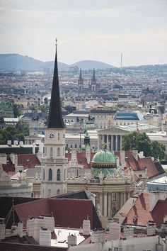 I went with a guy who was terrified to travel... made the trip a bit of a drag, but vienna was a beautiful place.