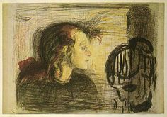 Munch, 15 yaşındaki kız kardeşinin tüberkülozdan ölümünden sonra bu resmin 1 yıl içinde 6 kopyasını yaptı.