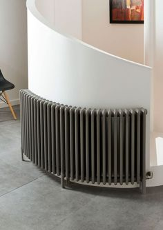 Our classic steel multi column radiator can be curved, so you can have a perfectly fitted radiator for your bay window or curved walls. Wall Radiators, Curved Radiators, Column Radiators, Column Design, Curved Walls, Traditional Interior, Bay Window, Home Appliances, Houses
