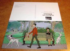 Walt Disney World 101 DALMATIANS Animation Art PROMO Postcard