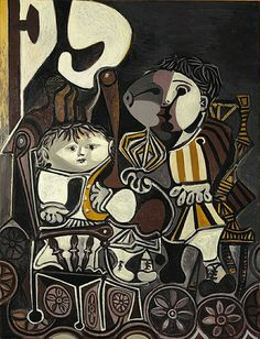 Picasso, Pablo (1881-1973) - 1950 Claude and Paloma ...Pablo Ruiz y Picasso, known as Pablo Picasso was a Spanish painter, sculptor, printmaker, ceramicist, and stage designer who spent most of his adult life in France. As one of the greatest and most influential artists of the 20th century, he is known for co-founding the Cubist movement, the invention of constructed sculpture, the co-invention of collage, and for the wide variety of styles that he helped develop and explore.