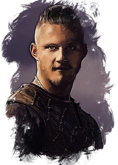 "Vikings Character Sketch Bjorn #Displate artwork by artist ""Seb D."". Part of an 8-piece set featuring artwork based on characters from the popular Vikings TV series. £38 / $52 per poster (Regular size), £77 / $104 per poster (Large size) #Vikings #Ragnar #RagnarLothbrok #Lagertha #Bjorn #Rollo #Floki #Athelstan #Aslaug #Ecbert"