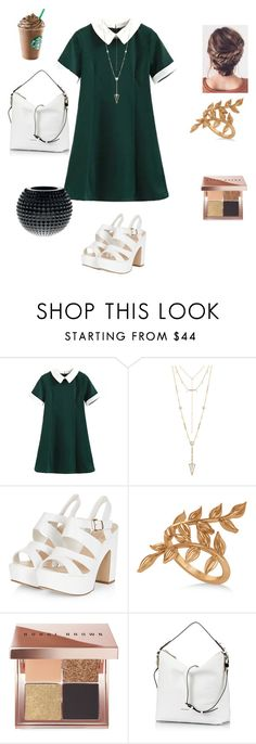 """""""Untitled 7"""" by alexa-borcea on Polyvore featuring House of Harlow 1960, Allurez, Bobbi Brown Cosmetics, Coccinelle, Gianfranco Ferré, Summer, indie and classy"""