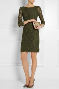 Diane von Furstenberg Zarita lace dress NET-A-PORTER.COM