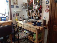 Soldering station  Cheryl Dunham  http://www.renaissance-jewelry.blogspot.com/