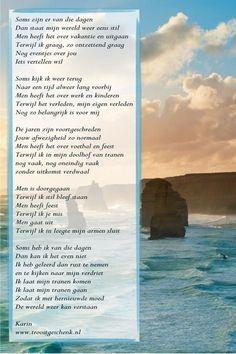 Troostgeschenk Gedicht Soms zijn er van die dagen