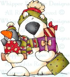 Jillian Goes Shopping - Christmas Images - Christmas - Rubber Stamps - Shop
