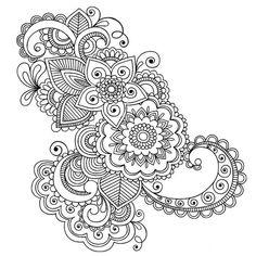 Индийские мотивы. Шаблоны, рисунки для творчества. Обсуждение на LiveInternet - Российский Сервис Онлайн-Дневников