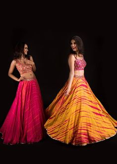 Mrunalini Rao's latest lehengas will make you feel like a princess Lehenga Skirt, Lehnga Dress, Pink Lehenga, Bollywood Lehenga, Indian Lehenga, Choli Designs, Lehenga Designs, Indian Skirt, Indian Dresses